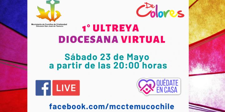 Primera Ultreya Diocesana Virtual a través de Facebook Live
