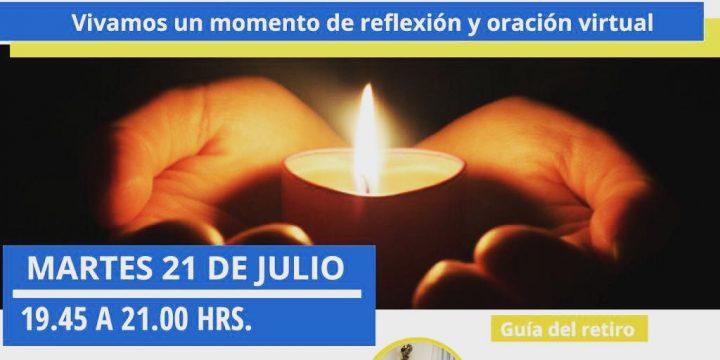 Participa en el Retiro Virtual  a cargo de Pbro. Guillermo Rojas R.