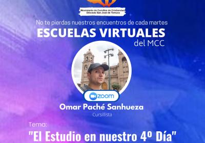 Participa de Nuestra 5ta. Escuela Diocesana Virtual