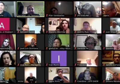 Gran convocatoria generan Escuelas Virtuales en el MCC Temuco