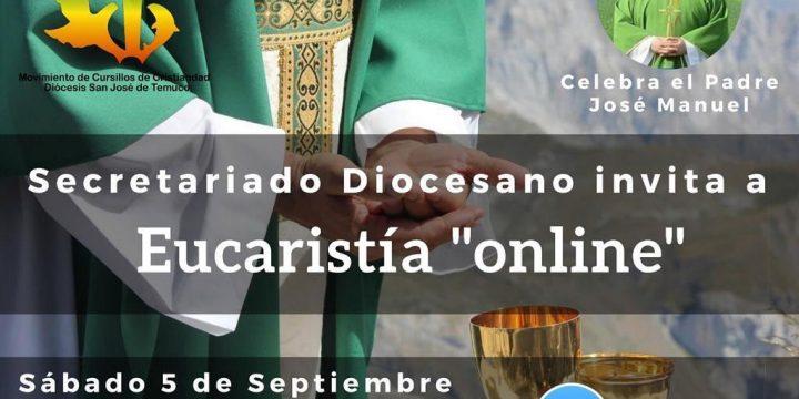 Eucaristía Virtual de Colores en el mes de la Biblia
