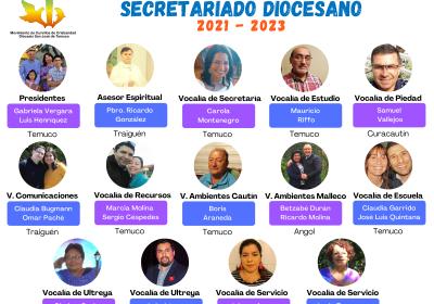 Presentación Equipo Nuevo Secretariado Diocesano