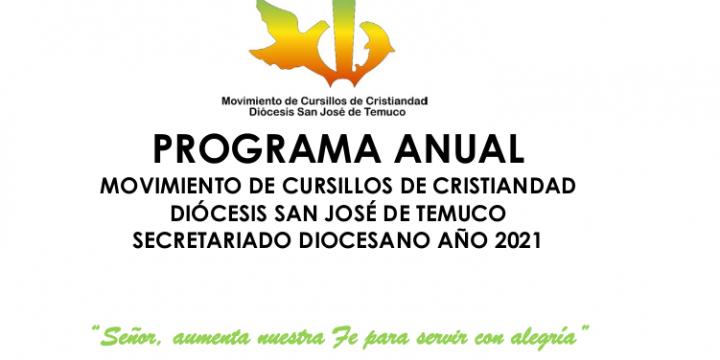 Programa Anual de Trabajo 2021