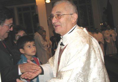 Padre Marcos Uribe parte a su 5to día